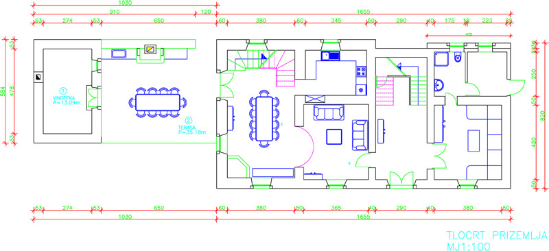 Ground floor ground plan